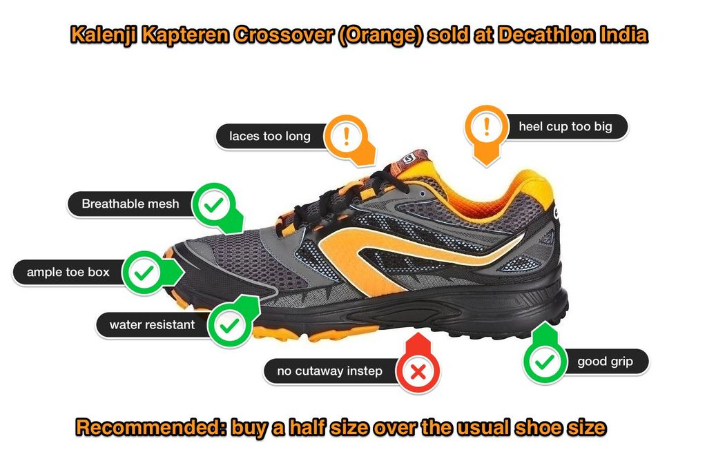 Decathlon Kalenji Kapteren Crossover shoe review conclusions